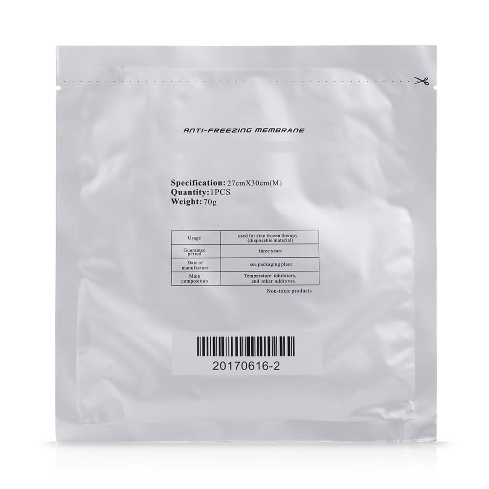 30*27cm Anti-freezant Membrane For Frozen Cold Freezing Weight Loss Slim Machine
