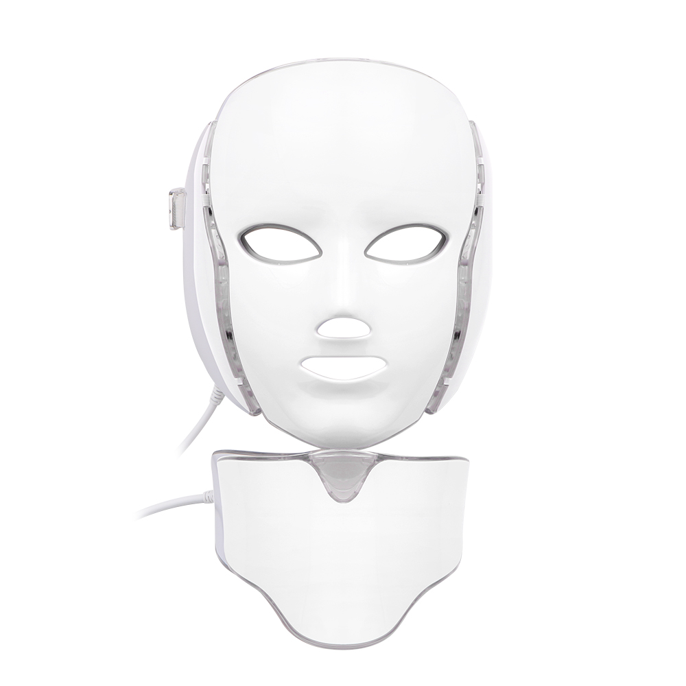 LED Facial&Neck Mask Therapy PDT Skin Rejuvenation 7 Colors